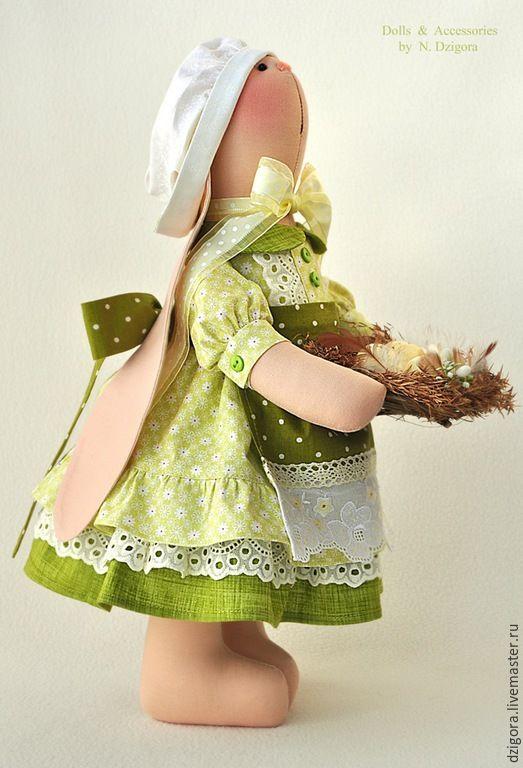 Купить Зайка - Липовый цвет - зайка, игрушка зайка, игрушка зайчик, зайцы, кролики