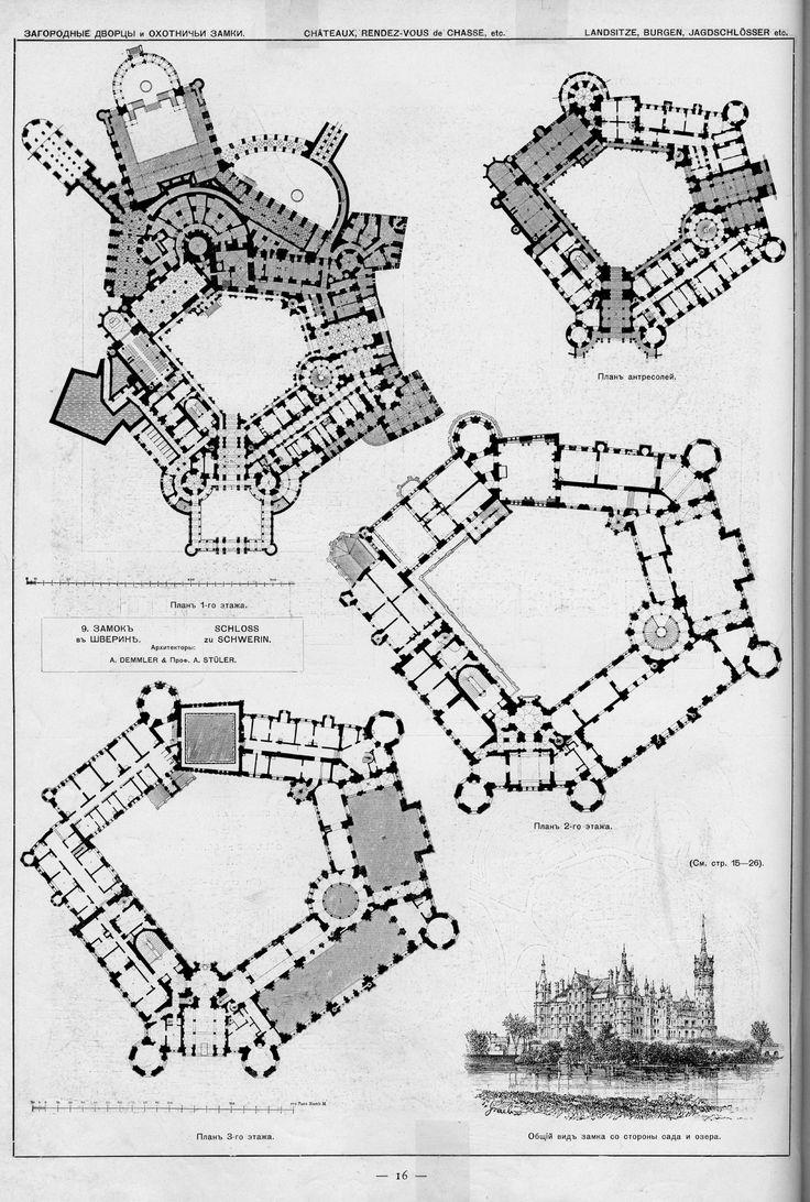 695 Best Images About Floor Plans Castles Amp Palaces On