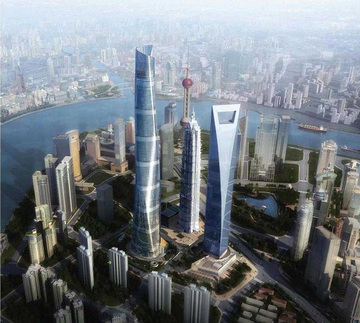 Shanghai Tower Skyscraper Building  Marshall Strabala, architect