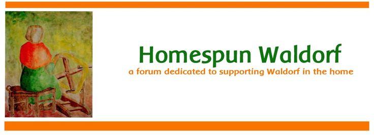 wonderful forum for waldorf homeschoolers