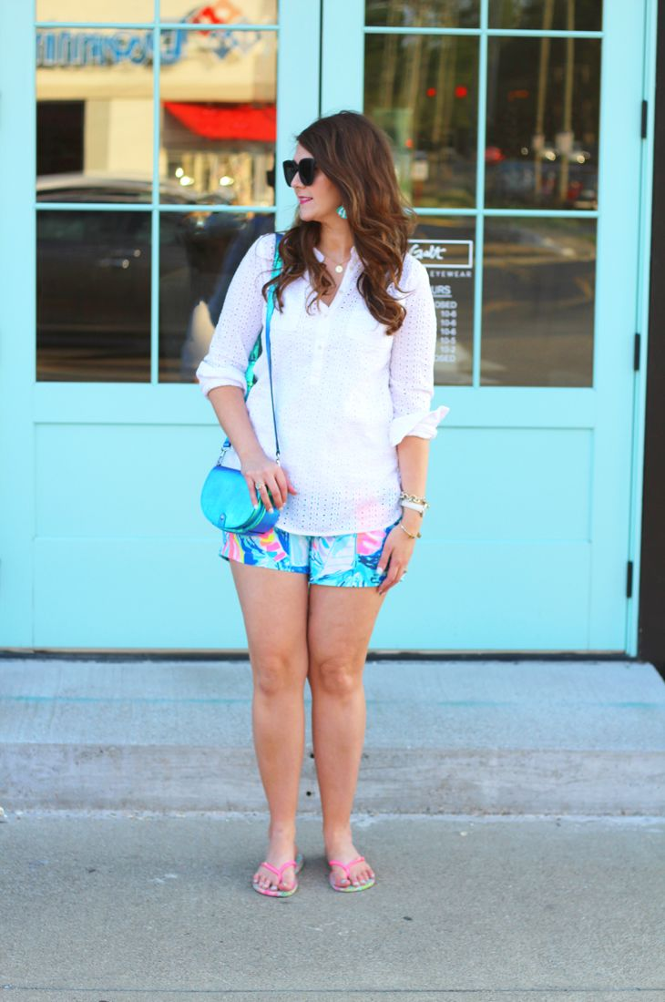 Casual Summer Dinner Outfit + Lilly Pulitzer After Party Sale August 2017 + $700 Target Giveaway   Bright on a Budget