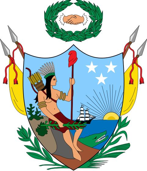 Coat of arms of Gran Colombia (1819) - File:Coat of arms of Colombia.svg - Wikimedia Commons