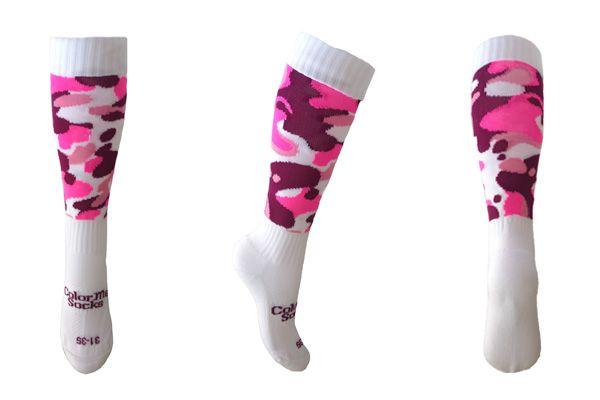 Pink Bush by ColorMeSocks™