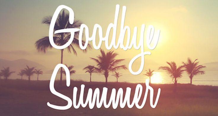 26.8.2016 Good bye summer