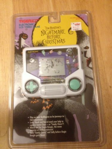 Vintage Nightmare Before Christmas LCD game Tiger ...