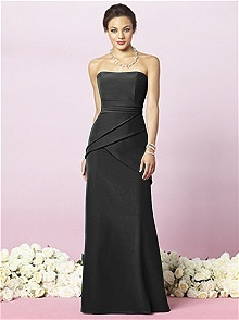 After Six #black #bridesmaid #dress
