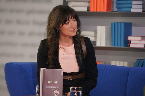 Charlotte Roche im Gespräch mit Luzia Braun