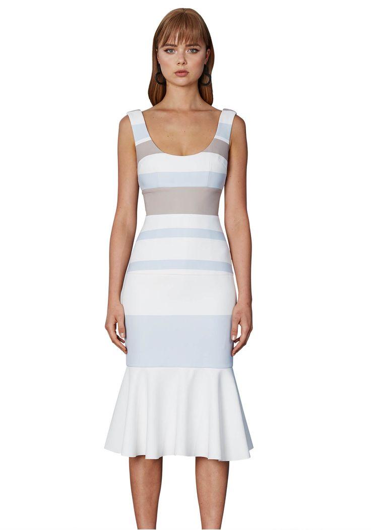 BY JOHNNY. Bold Lines Panel Dress | Contemporary Australian Womenswear