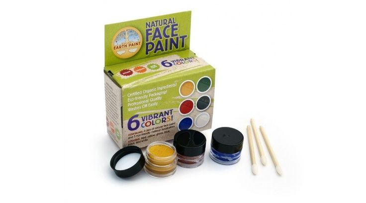 Natural Earth Paint arcfestő készlet 6 szín - Játékfarm játékshop