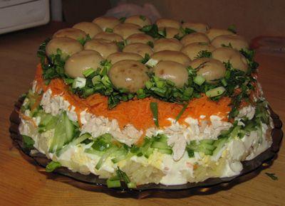 Кулинария салаты салаты из говяжьей печени