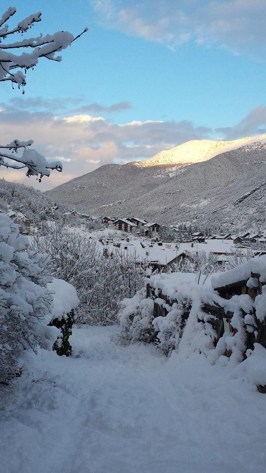 Uno scorcio delle #alpi #piemontesi in inverno