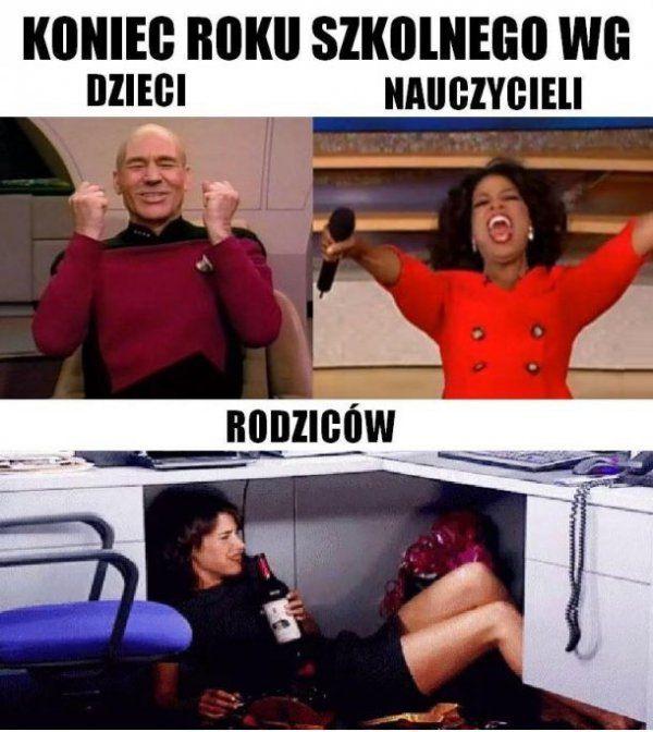 Koniec Roku Szkolnego Smieszne Memy Zawsze Na Https Pocisk Org Funny Memes School Memes Weekend Humor