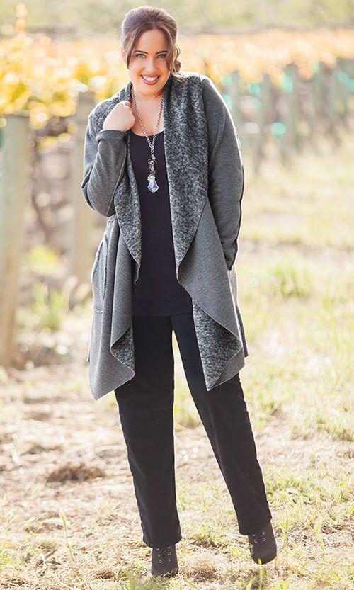 MONTANA COAT / MiB Plus Size Fashion for Women / Fall Fashion / Plus Size Coat / http://www.makingitbig.com/product/montana-coat