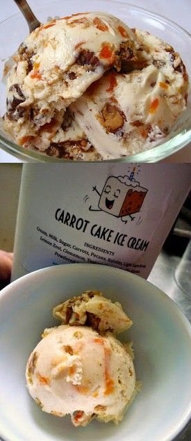 Recipe | Carrot Cake {Ice Cream} :: Whoever invented carrot cake ice cream was a genius. Combine the yummiest cake with everyone's favorite frozen dessert, and you have a major trend just waiting to happen... #party #holiday favorite