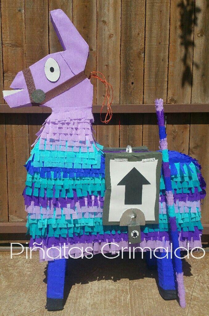 Fortnite Llama Piñata En 2019 Decoracion Cumpleaños