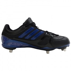 SALE - Adidas Phenom Softball Cleats Mens Black Leather - Was $120.00 - SAVE $90.00. BUY Now - ONLY $29.99
