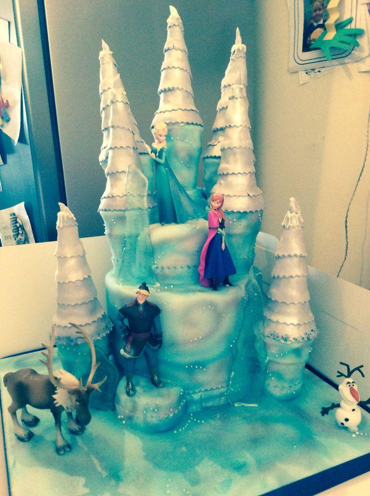 Frozen cake #frozencake
