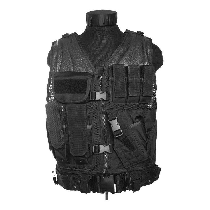 Mil-tec army usmc #tactical #assault vest black best #price !!,  View more on the LINK: http://www.zeppy.io/product/gb/2/162234103118/