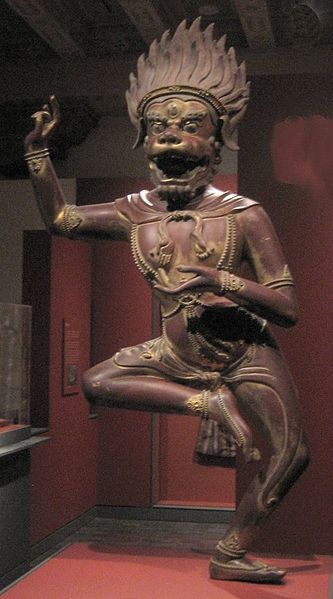 File:The Buddhist deity Simhavaktra Dakini, China, Hebei Province, Qing Dynasty, reign of the Qianlong emperor, 1736-1795, dry lacquer inlaid with semiprecious stones, Asian Art Museum of San Francisco.JPG