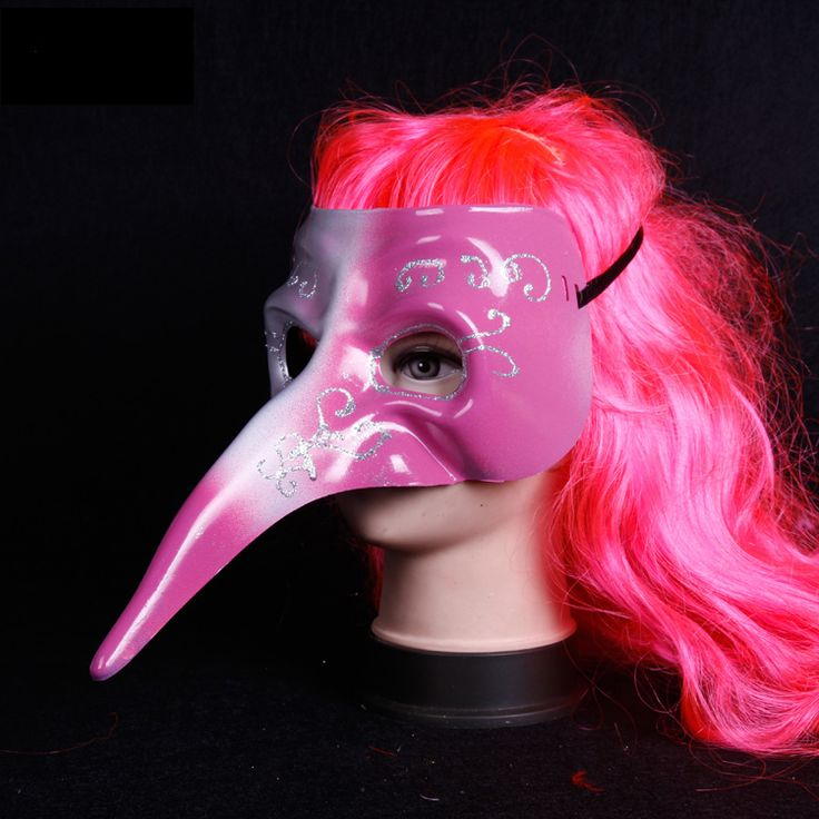 Grátis frete os novos estilos 2015 longo nariz moda máscaras pintura de máscaras engraçado cara cheia máscara veneziana mascaras halloween em Materiais para festas & comemorações de Casa & jardim no AliExpress.com | Alibaba Group