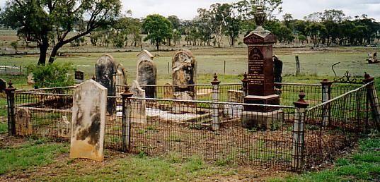 Bayliss Headstones, Rylstone, NSW.
