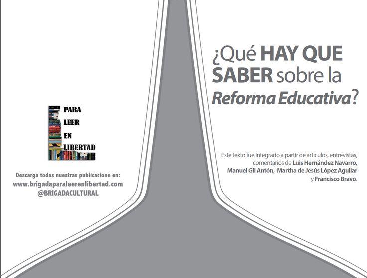 ¿QUE HAY QUE SABER SOBRE LA REFORMA EDUCATIVA?