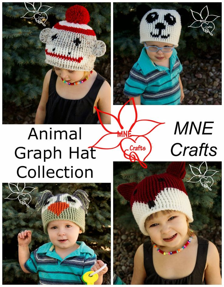 MNE Crafts: Animal Graph Hat Collection