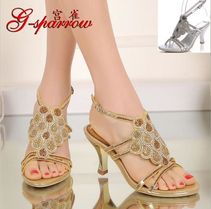 Europe And The United States New Chain Beach Shoes High Heeled Sandals Sandals Chain Flat Bottomed Out Sandals #07 discount best seller B9eYEfc