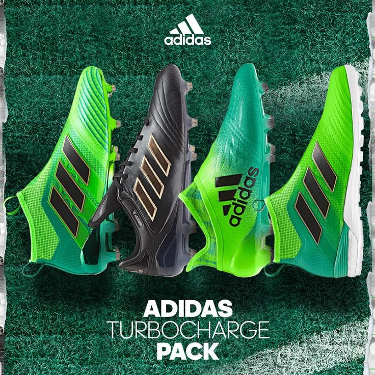 Turbocharge Pack. Get your cleats here: http://www.soccerpro.com/Adidas-Soccer-Shoes-c256/