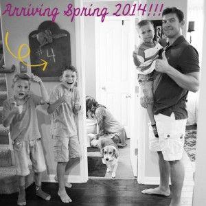 Pregnancy Reveal Ideas, Super Cute Baby #4 Reveal- Austin Moms Blog