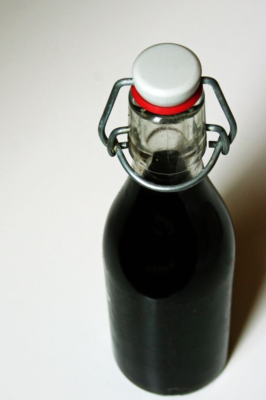 Cold-Brewed Coffee - would be a good thing to do with the beans in our freezer!