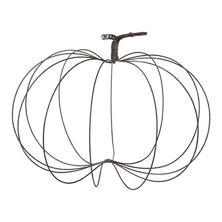 I love this....can you make this out of wire hangers??? Hmmm