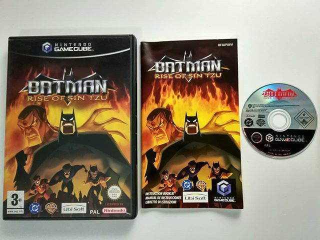 Nintendo Gamecube Batman Rise Of Sin Tzu Pal Retrogaming