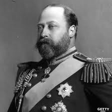 King Edward VII. When still the Prince of Wales, he began an affair with Lily that lasted from 1877 to 1880.