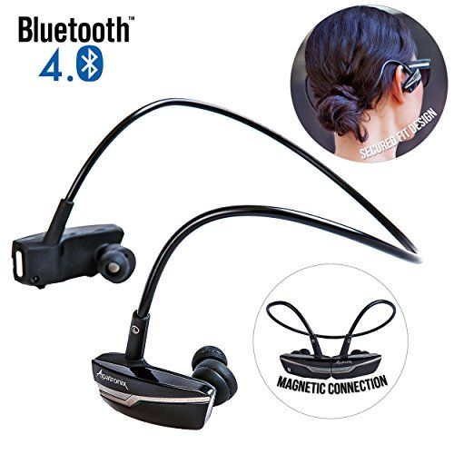 Special Offers - Bluetooth In-Ear Headphones Alpatronix [HX200] Active Lifestyle Noise-Isolating Wireless Earbuds Magnetic Earphones Headset with Microphone Universal Volume Control Playback Control Noise Reduction for iPhone 6s Plus 6s 5s 5c 4s Samsung Galaxy S6 Edge S6 S5 S4 Note 5 4 3 / Google Nexus 6 5 4 LG G4 G3 HTC One M9 M8 M7 Motorola Droid Nokia Lumia Sony Experia Other Bluetooth Android iOS Smartphone Devices & Smart TV  (Onyx Black) - In stock & Free Shipping. You can save more…