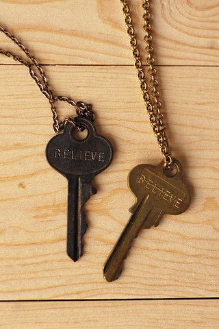 The Giving Keys Believe Necklace