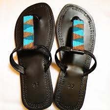 #african beaded sandals -just gorgeous!