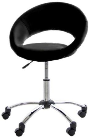 AC Design Furniture Thilde 28286 Office Chair Artificial Leather Black: Amazon.co.uk: Kitchen & Home