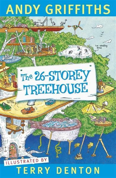 The 26-Storey Treehouse by Andy Griffiths, awarded ABIA Book of the Year for older children  2013.