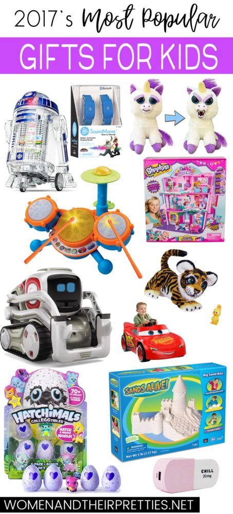 Are you looking to give your kids something everyone is taking about this year? With my 2017's Most Popular Kids Gifts for Christmas you'll find all the gifts your kids have on their wish list this year and maybe a few more things they don't even know about yet. #GiftsForKids #TopToys #PopularToys #KidsGifts #ToyList via @JoyceDuboise