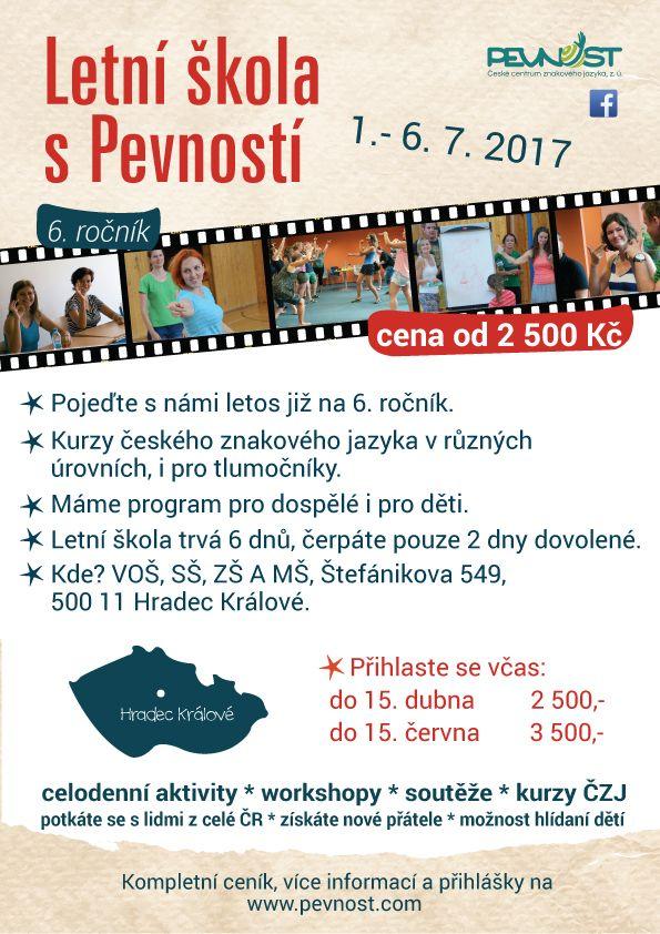Intenzivní kurz českého znakového jazyka v různých úrovních.