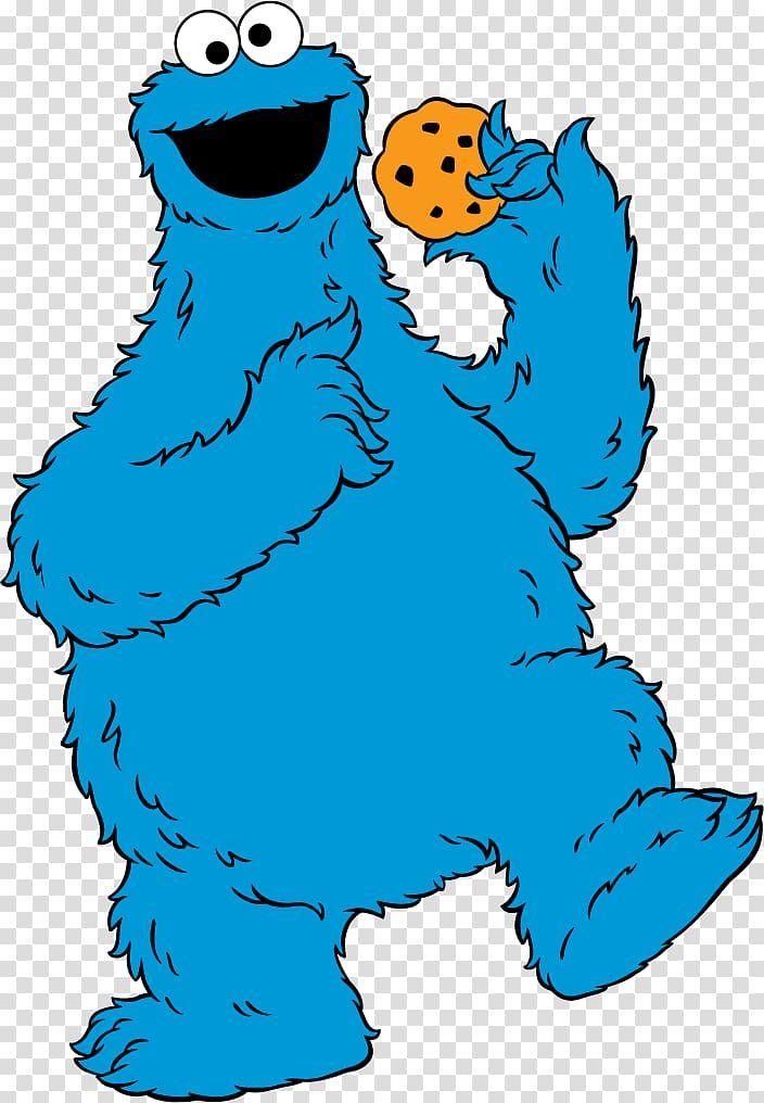 Cookie Monster Illustration Cookie Monster Elmo Big Bird Count Von Count Ernie Monster Eating Cookie Monster Wallpaper Cookie Monster Drawing Monster Cookies