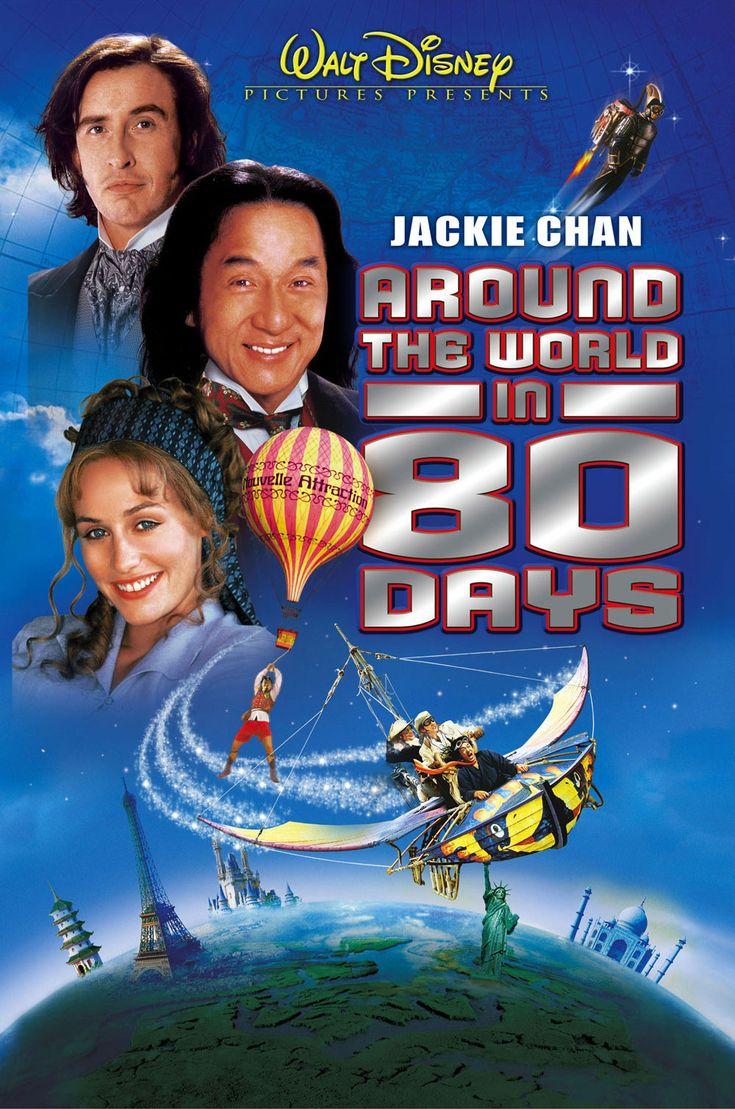 La vuelta al mundo en 80 días. Julio Verne. Con Steve Coogan y Jackie Chan (2004).