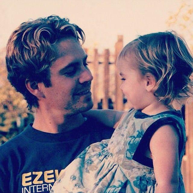 Paul Walker With His Daughter, Meadow Walker