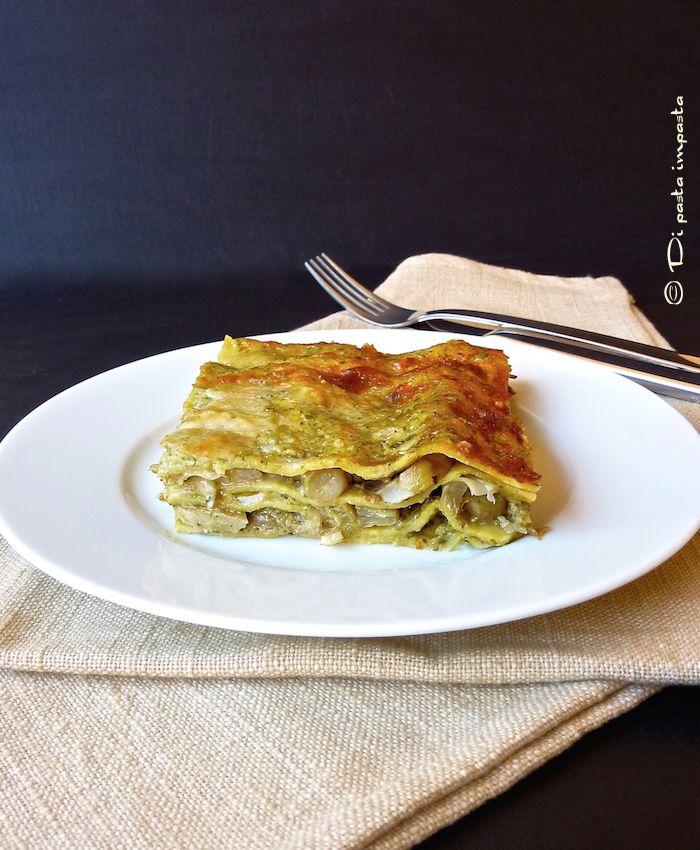 Di pasta impasta: Lasagne con carciofi e pesto