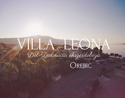 "Check out new work on my @Behance portfolio: ""Villa Leona"" http://on.be.net/1Gj5Zbs"