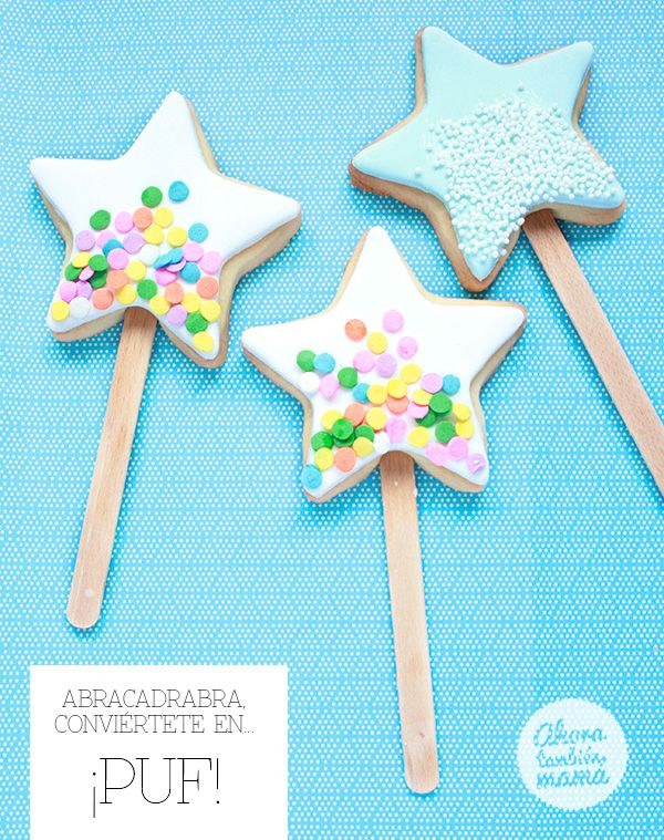 #DIY Abracadabra magic #cookies #party