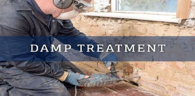 Treatment for Damp Exterior Walls
