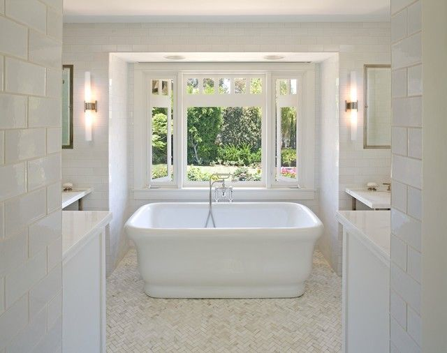 traditional bathroom lighting ideas white free standin. waterworks empire freestanding rectangular composite bathtub · traditional bathroombathroom tile designstile bathroom lighting ideas white free standin l