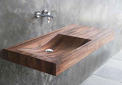 Desiring: this timber wash basin | Designhunter - architecture & design blog